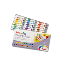 Pentel Arts Watercolour 5ml-24 Cols - Me Books Store