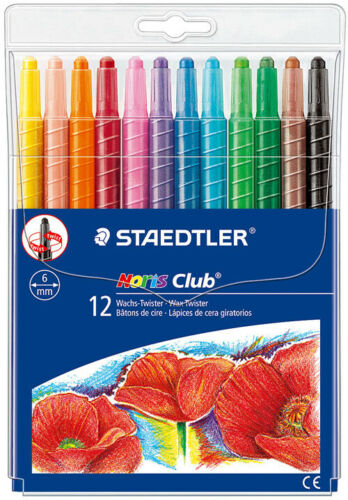 Staedtler Noris Club Wax Twister 12s - Me Books Store