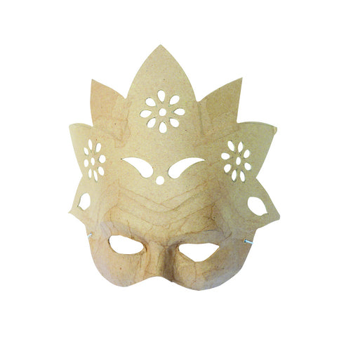 Décopatch Objects: Masks - Flower - Me Books Store