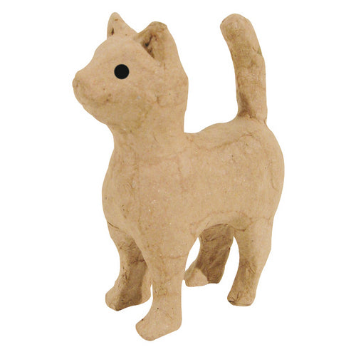Decopatch Pulp Small Standing Cat - Me Books Asia Store
