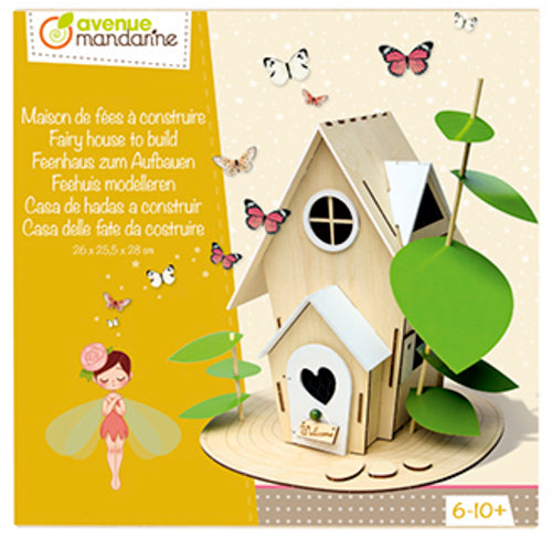 Avenue Mandarine Creative Box Fairy House To Build - Me Books Asia Store