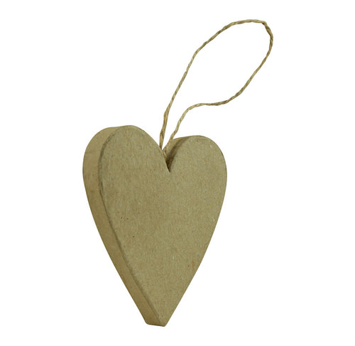Décopatch Objects:Christmas-Flat Heart to Hang - Me Books Store