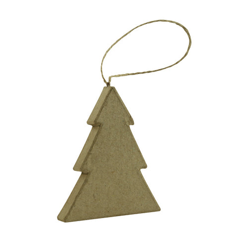 Décopatch Objects:Christmas-Flat Tree to Hang - Me Books Store