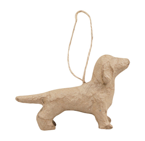 Décopatch Objects:Christmas-Dachshund to Hang - Me Books Store