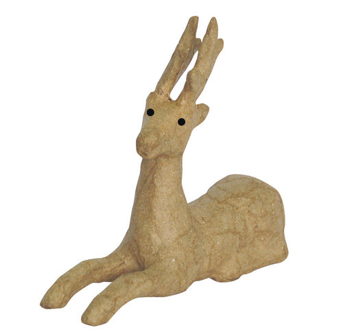 Décopatch Objects: Christmas - Sitting Reindeer - Me Books Store