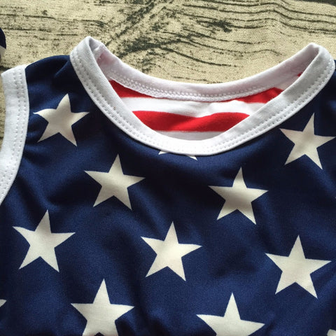 56e9aa74bc327 ... Baby Girl 4th Of July Cotton Outfit
