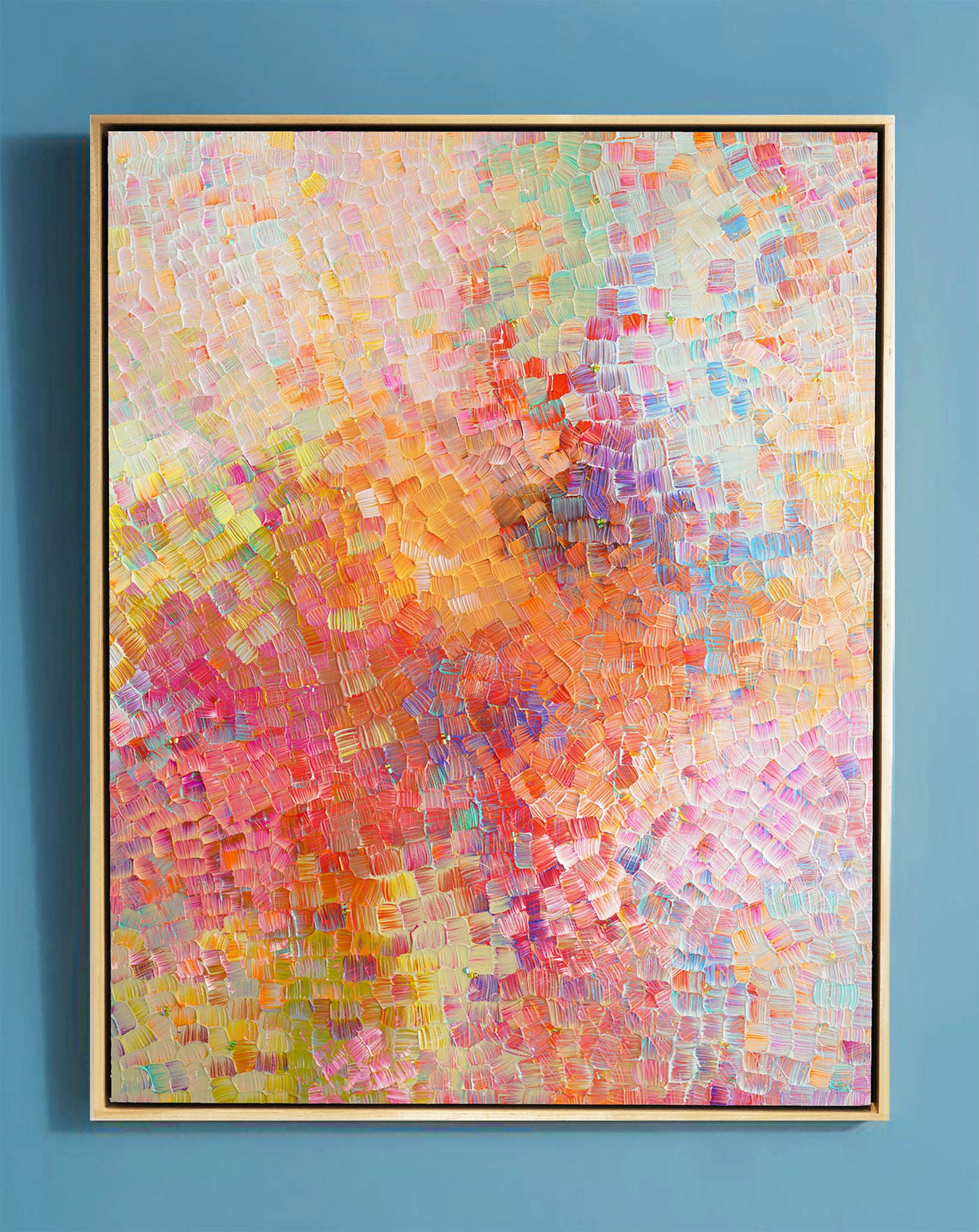 "My Summer Heart -61.25"" X 46.25"" X 2.5"" Framed"