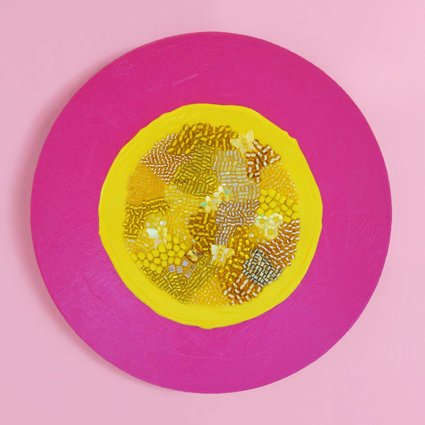 "Identity Dots No. 14 -8"" Diameter and 7/8"" Deep"