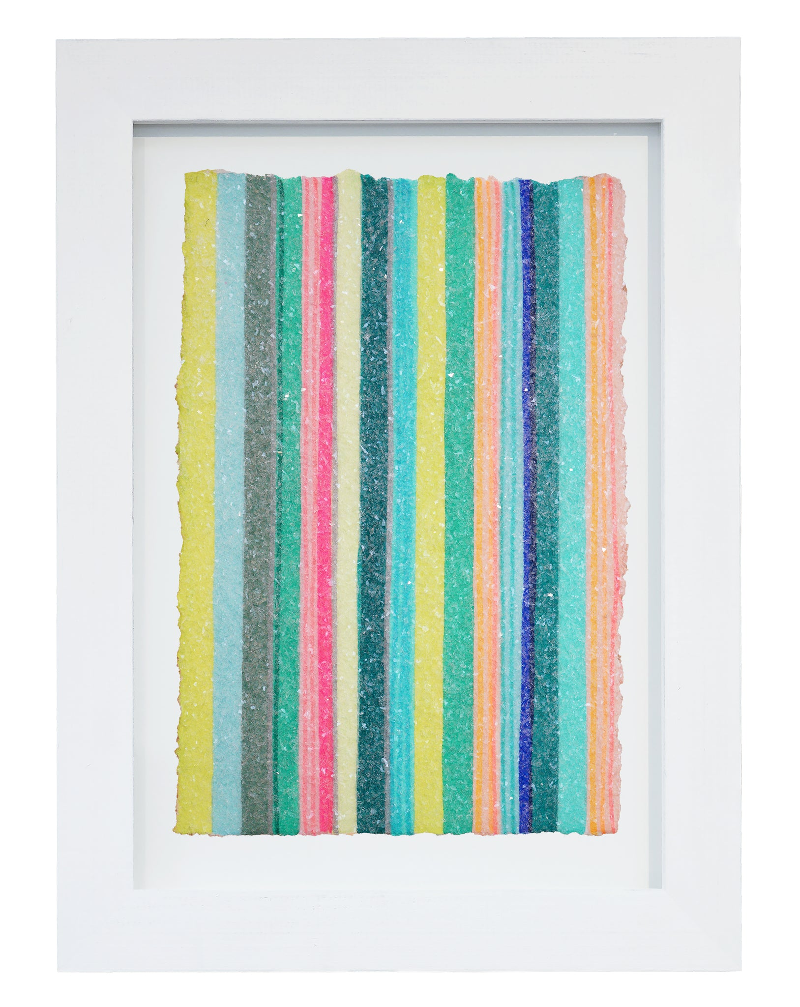 "Lineation No. 10 -17"" X 13"" Framed"