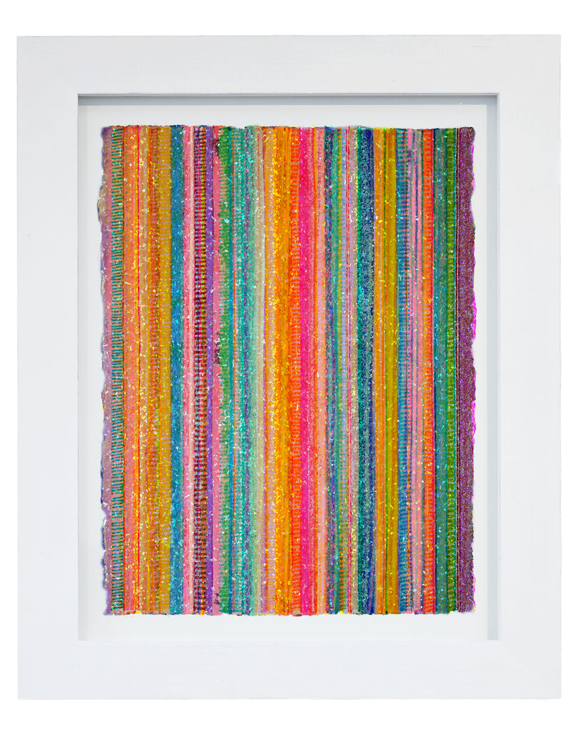 "Lineation No. 62 -36"" X 28"" Framed"