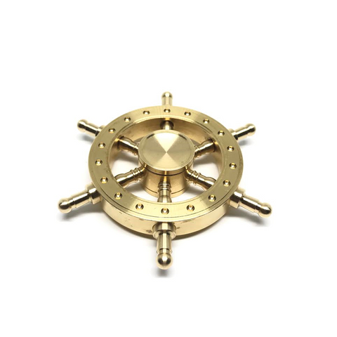 Brass Rudder Spinner