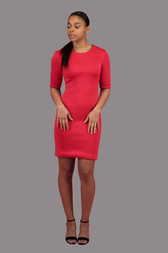Short Sleeve Bodycon Dress