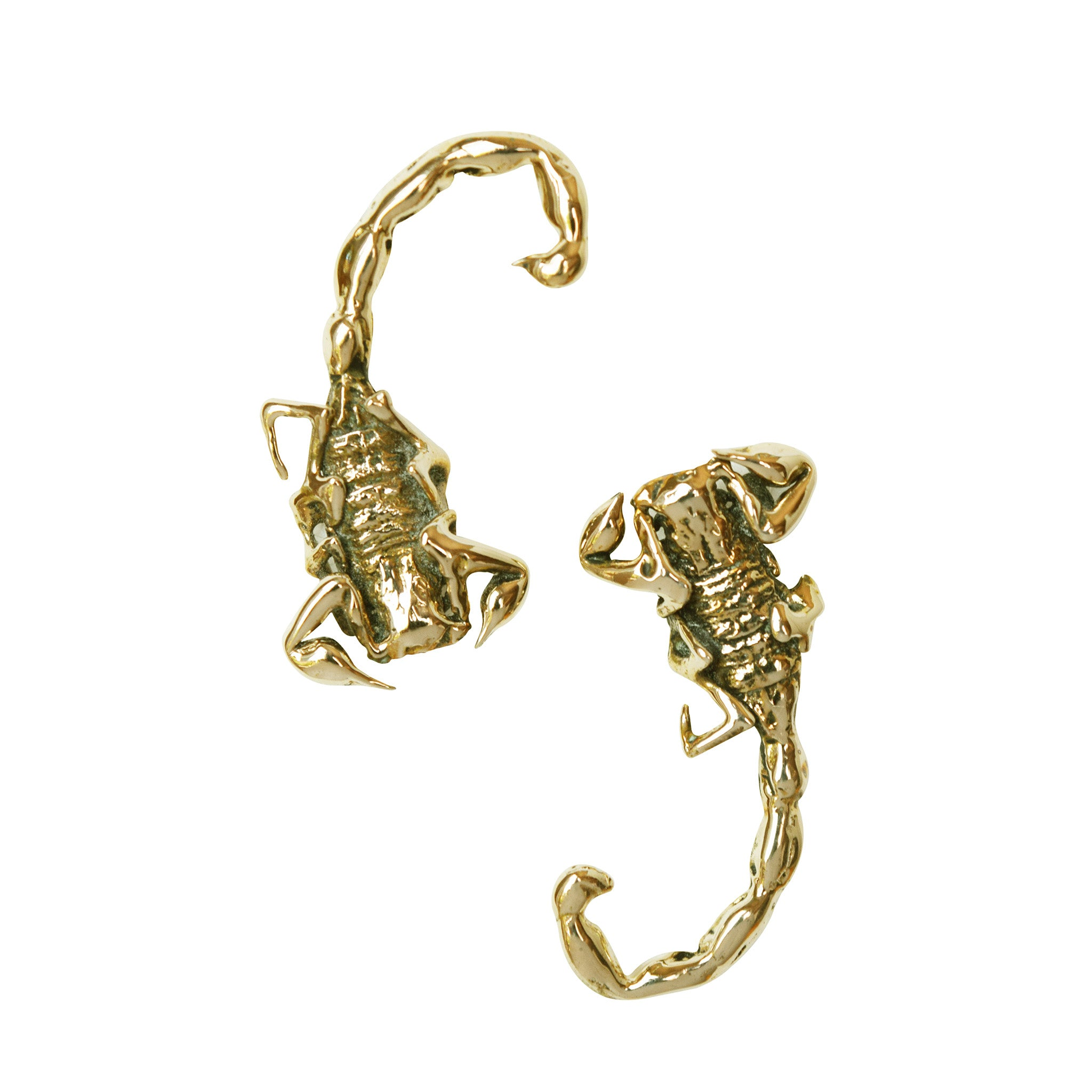 Scorpion Stud Earrings - Lissa Bowie