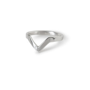 Chevron Stacking Ring - Lissa Bowie