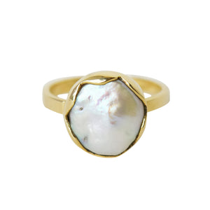 Softwave Pearl Ring - Lissa Bowie