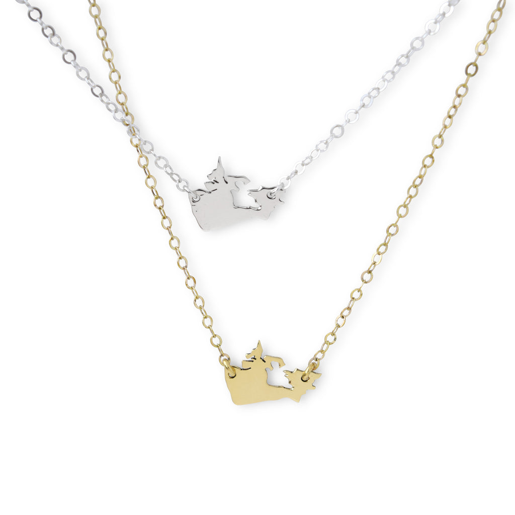Canada Map Necklace - Lissa Bowie
