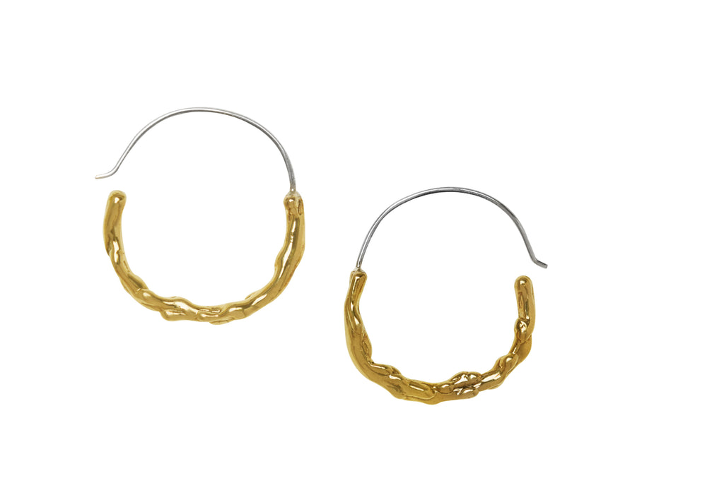 Willow Half Hoop Earrings - Lissa Bowie