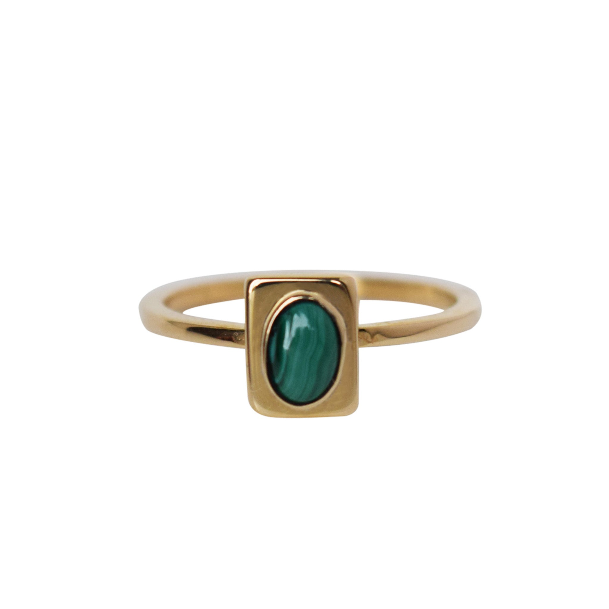 Stone Portrait Stacking Ring - Lissa Bowie