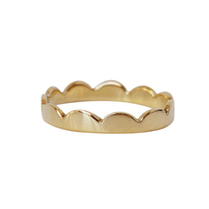 Petal Stacking ring - Lissa Bowie