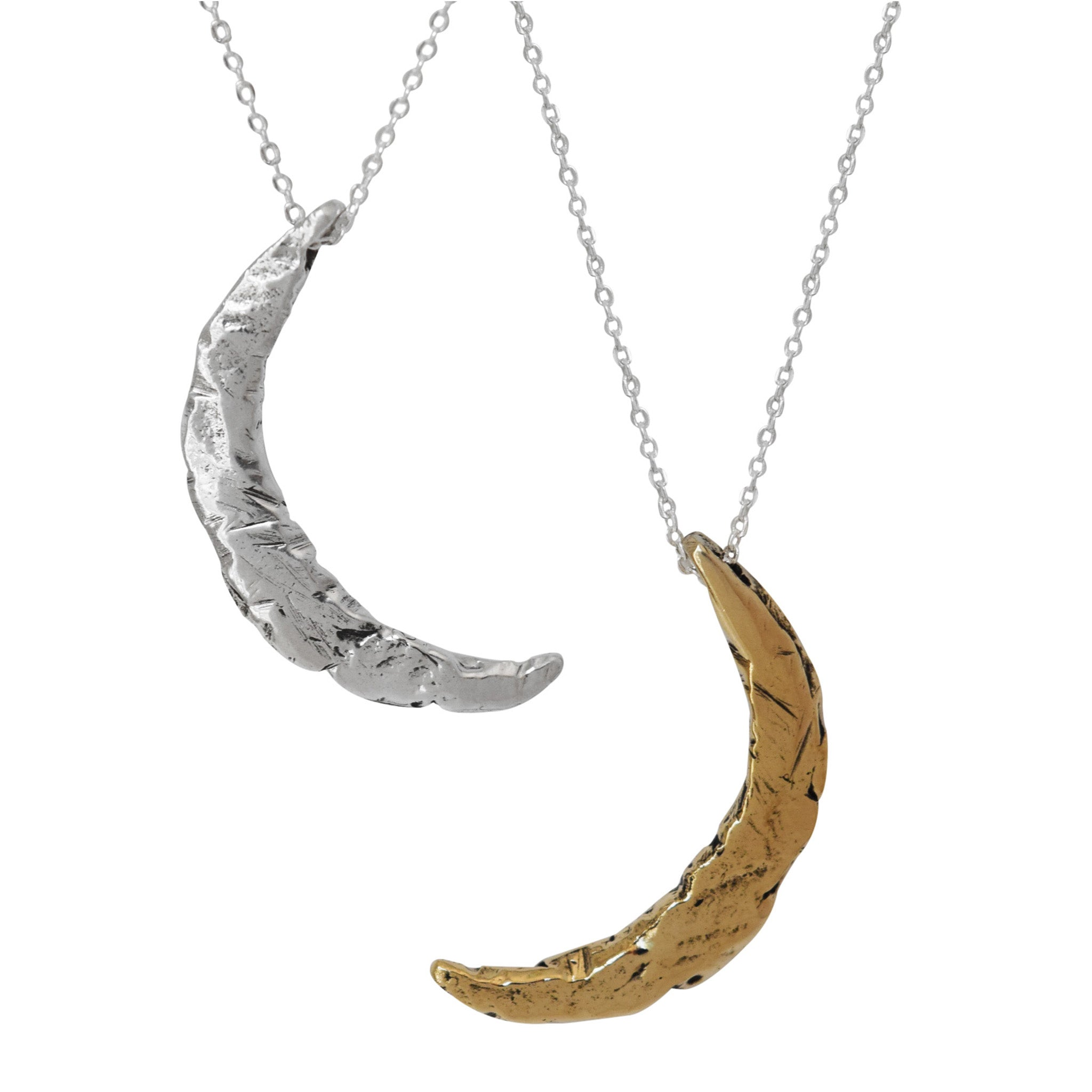 Marion Crescent Moon Necklace - Lissa Bowie