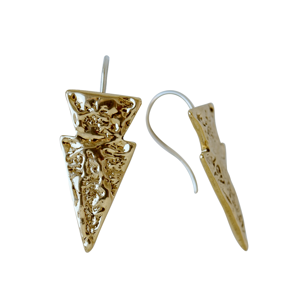 Flecha Arrowhead Drop Earrings - Lissa Bowie