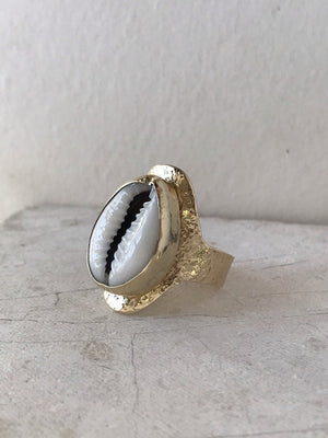 Cowrie ring
