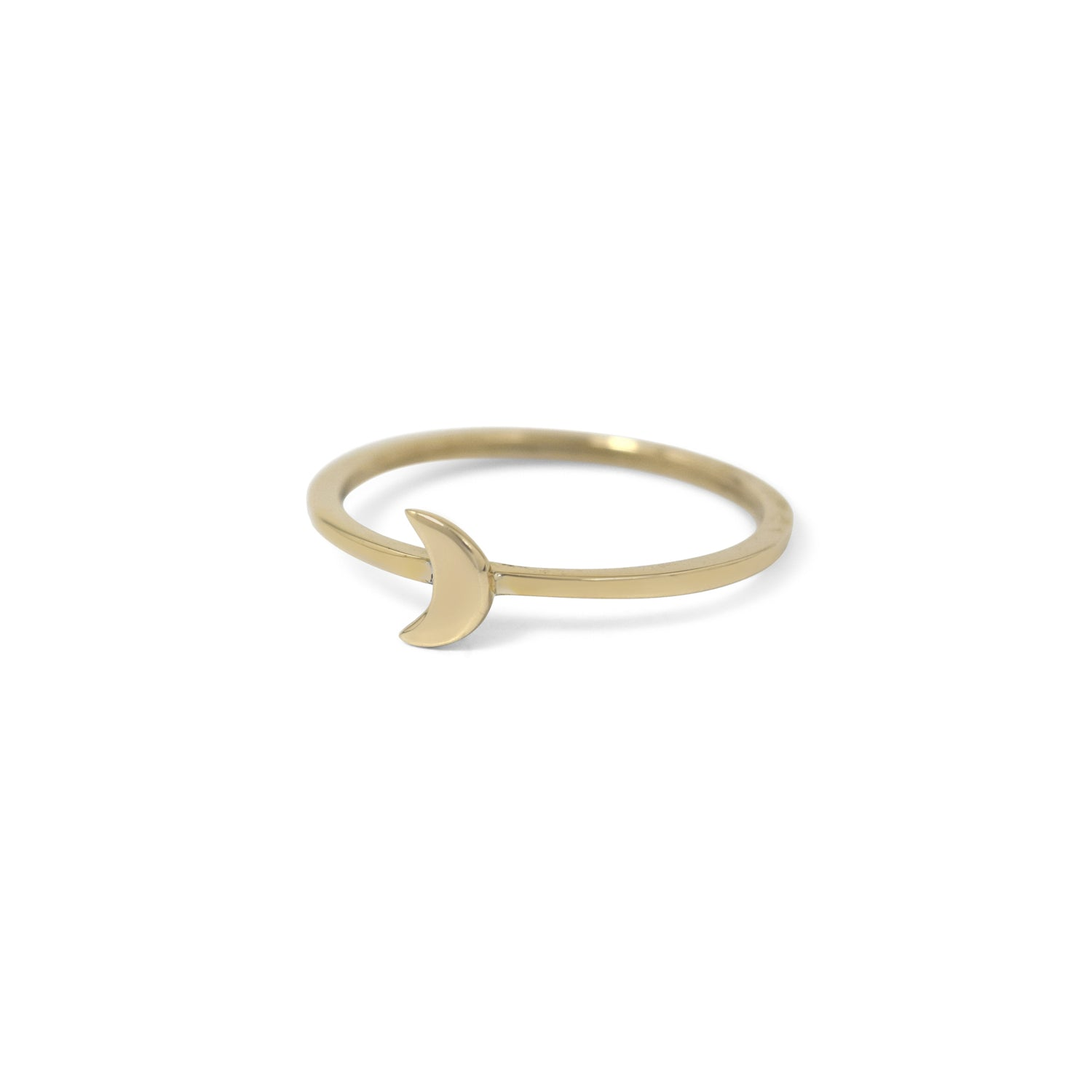 Celestial Moon Stacking Ring - Lissa Bowie