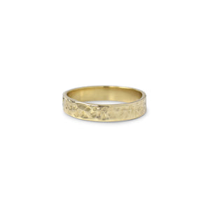 Fayette Straight Edge Stacking Ring - Lissa Bowie