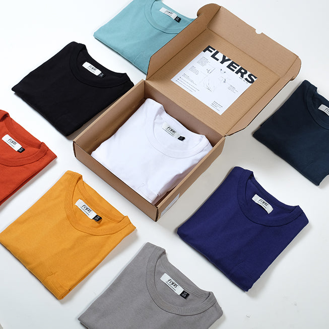 FLYERS Premium Natural Pocket Tee