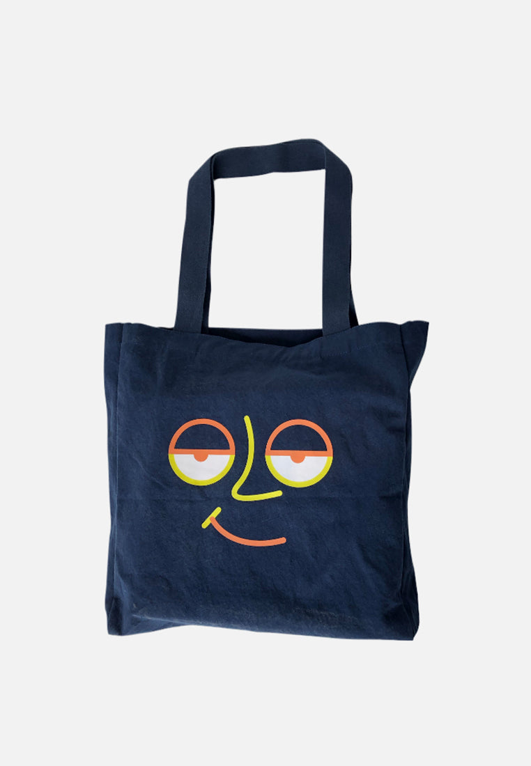 Ace Face Totebag S20 Navy Red