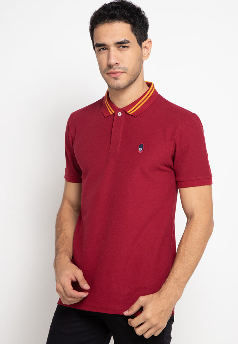 Guardian Polo Shirt In Red