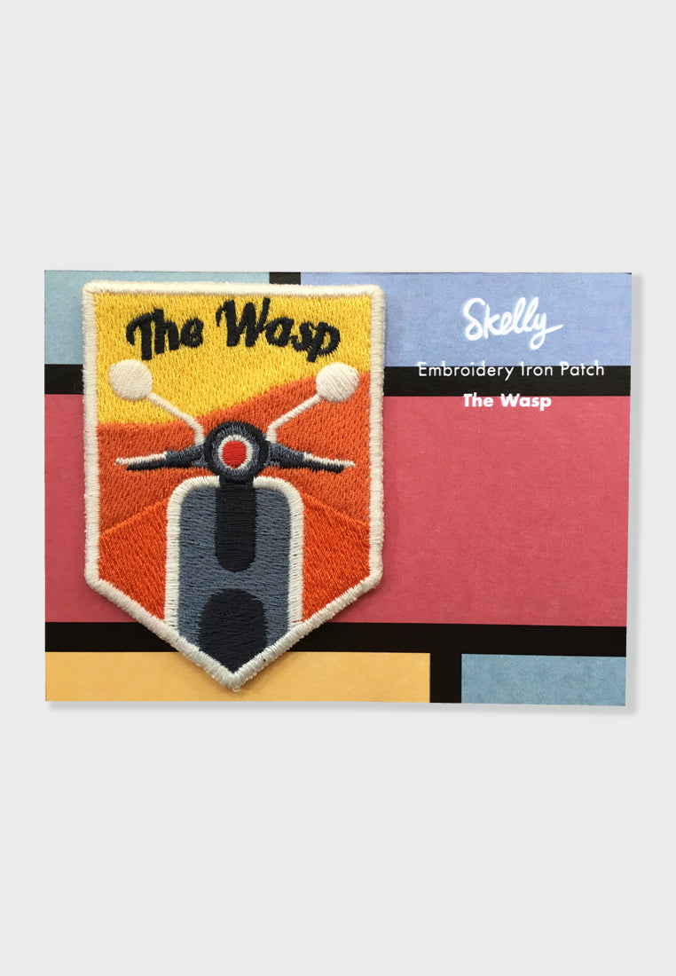 The Wasp Embroidery Patches