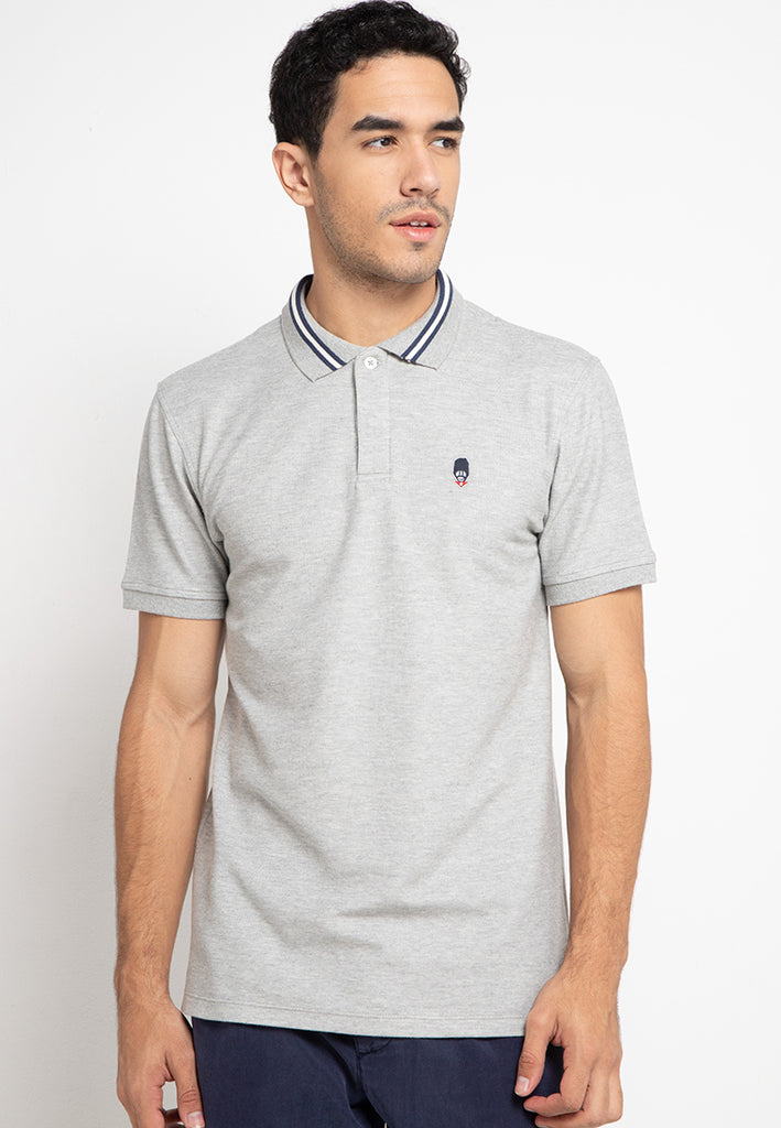 Guardian Polo Shirt In Grey