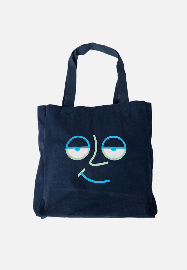 Ace Face Totebag S20 Navy Blue