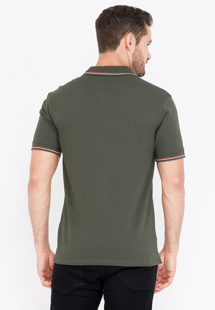 Guardian Classic Polo Shirt W2 In Green
