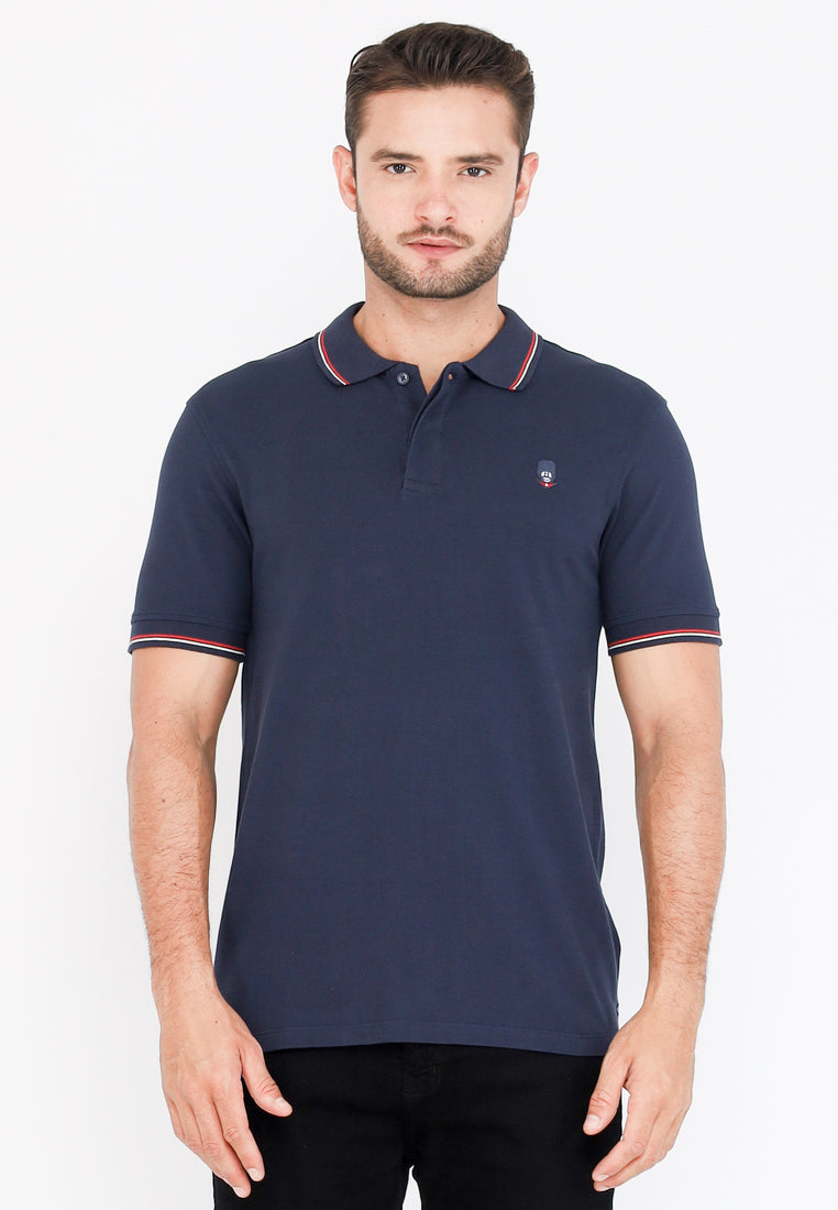 Guardian Classic Polo Shirt W2 In Navy