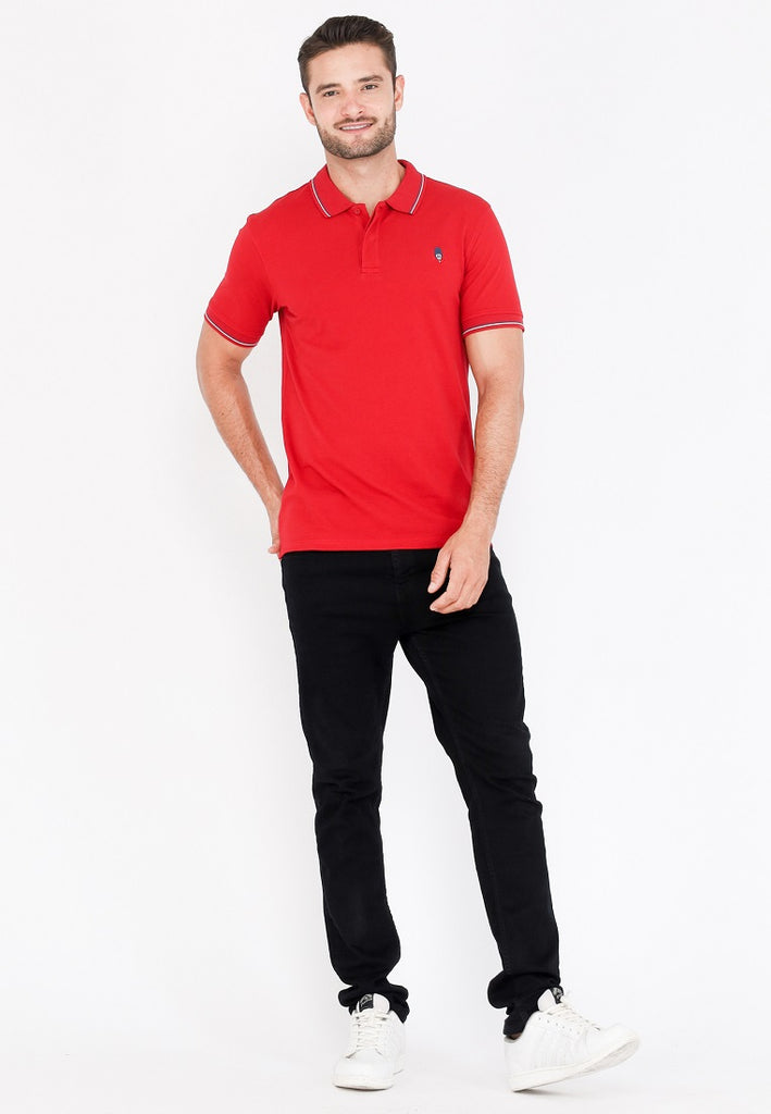 Guardian Classic Polo Shirt W2 In Red