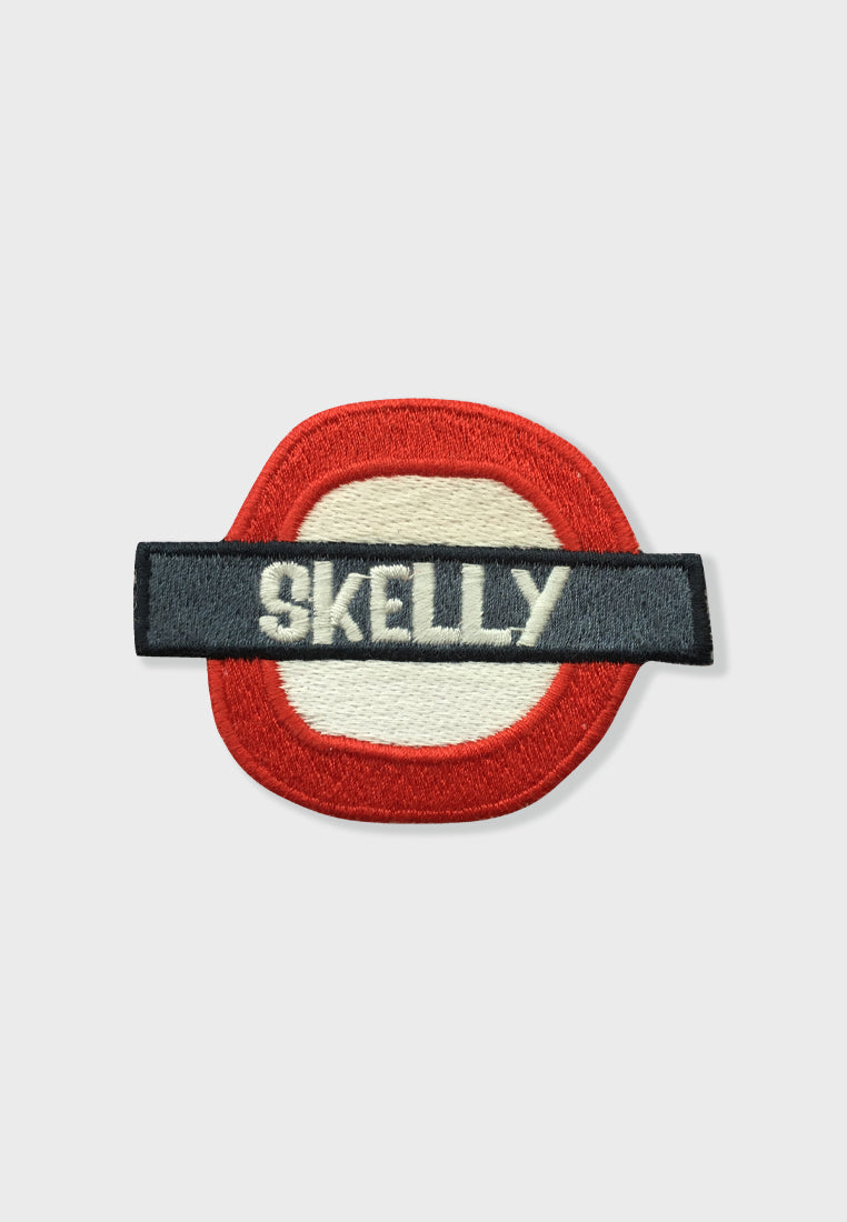 Skelly Underground Embroidery Patches