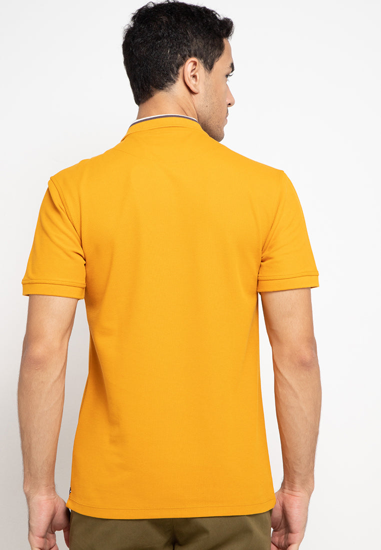 Guardian Polo Shirt In Yellow