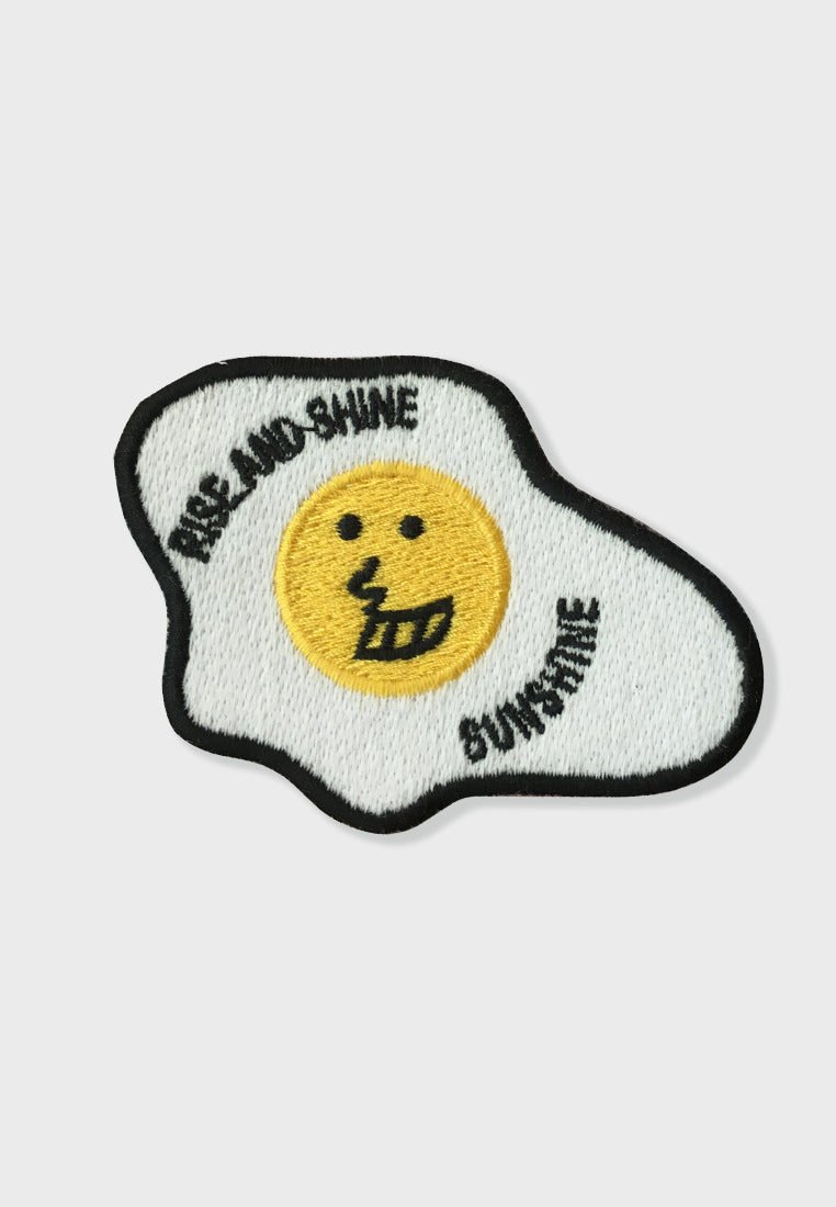 Positive Egg Embroidery Patches