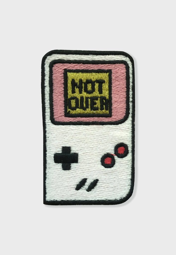 Not Over Embroidery Patches