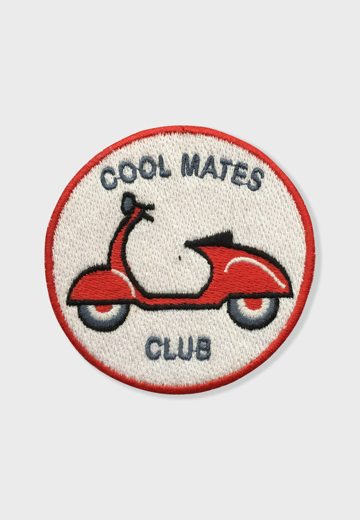 Cool Mates Club Embroidery Patches
