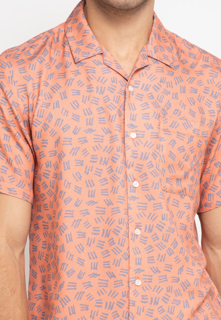 Tropical Shirt Coral