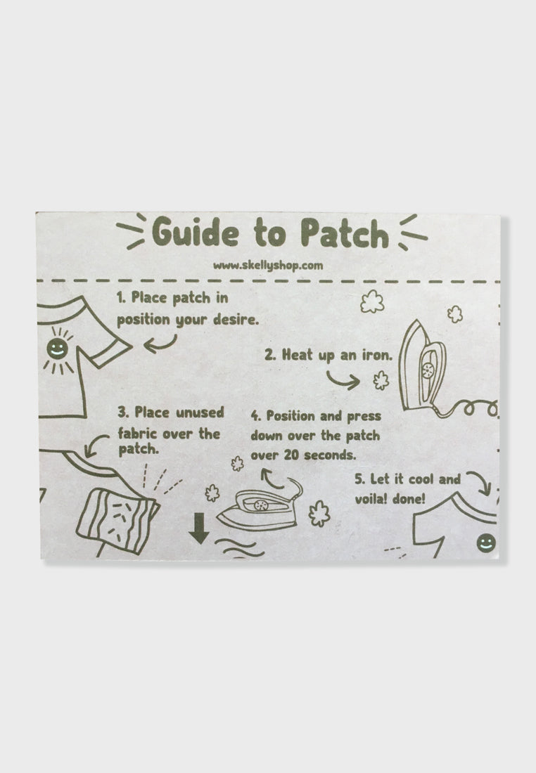 Rainbowie Embroidery Patches