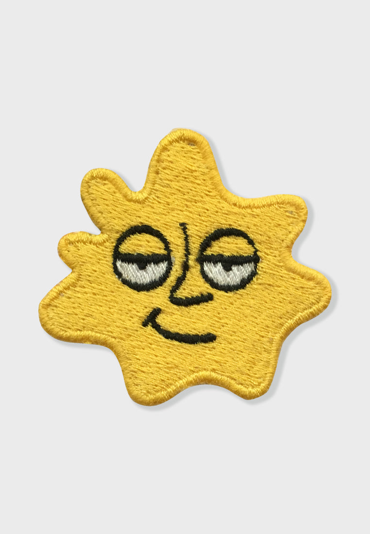 Splash Ace Face Embroidery Patches