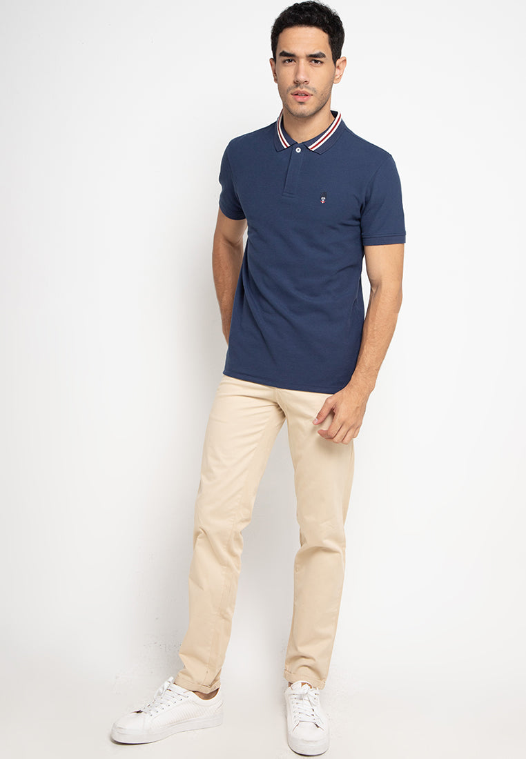 Guardian Polo Shirt In Navy