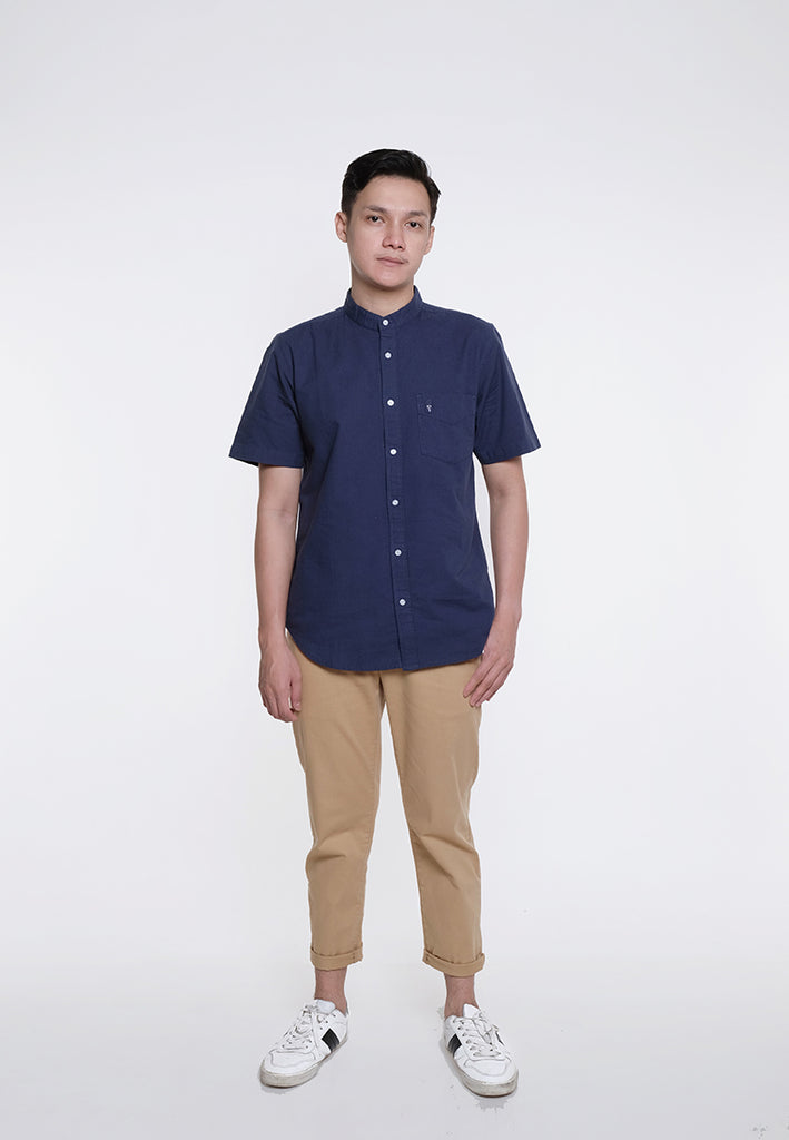 Guardian Alan Oxford SS Shirt Navy
