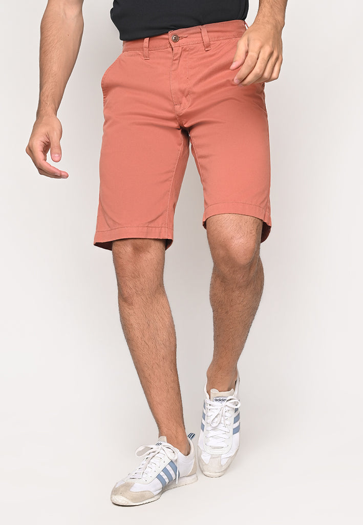 Eric Knee Length Uniform Short Wood
