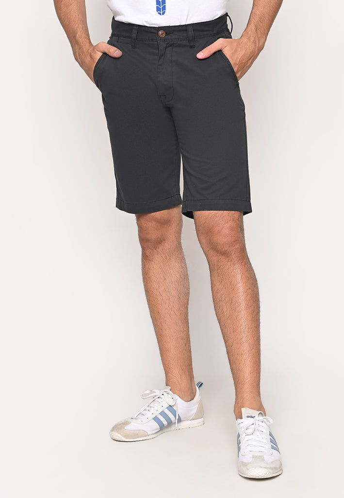 Eric Short Knee Length Uniform Short Black