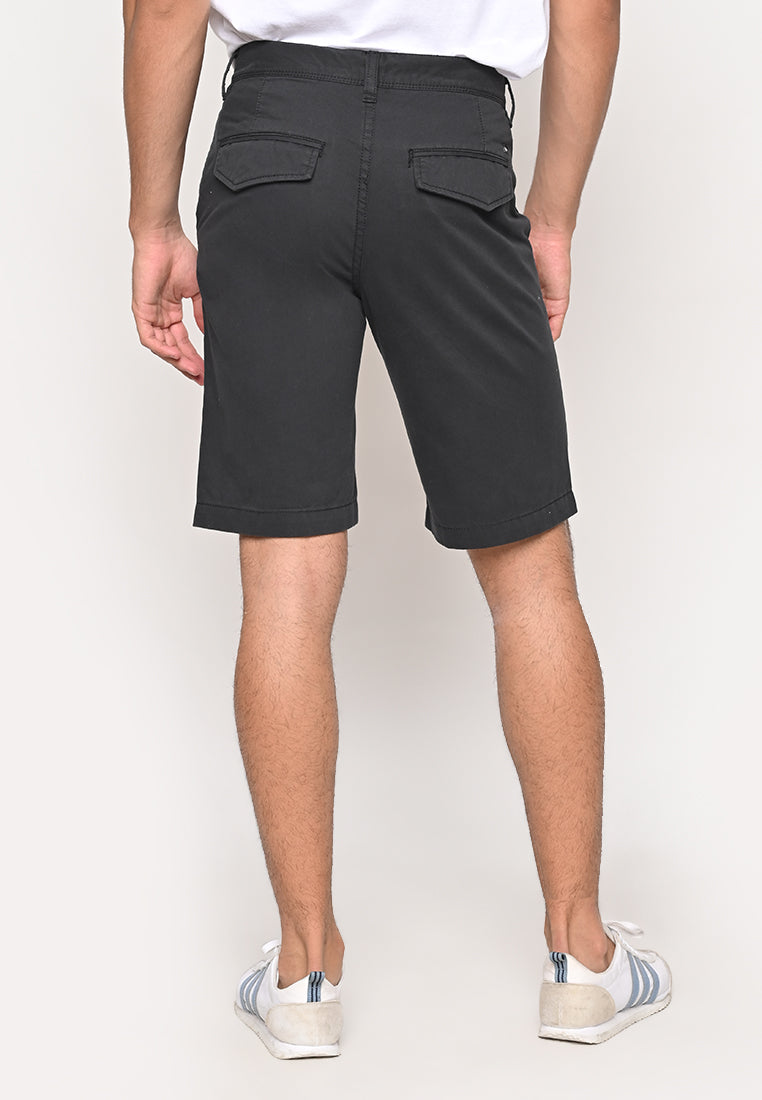 Eric Short Knee Length Short Black